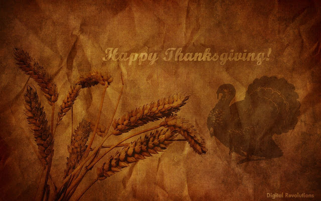 happy thanksgiving 3d image