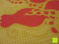 """Muster: Yogamatte """"Ravana"""" Die ideale Yoga- und Gymnastikmatte für Yoga-Einsteiger. Maße: 183 x 61 x 0,4cm / Paisley gelb"""