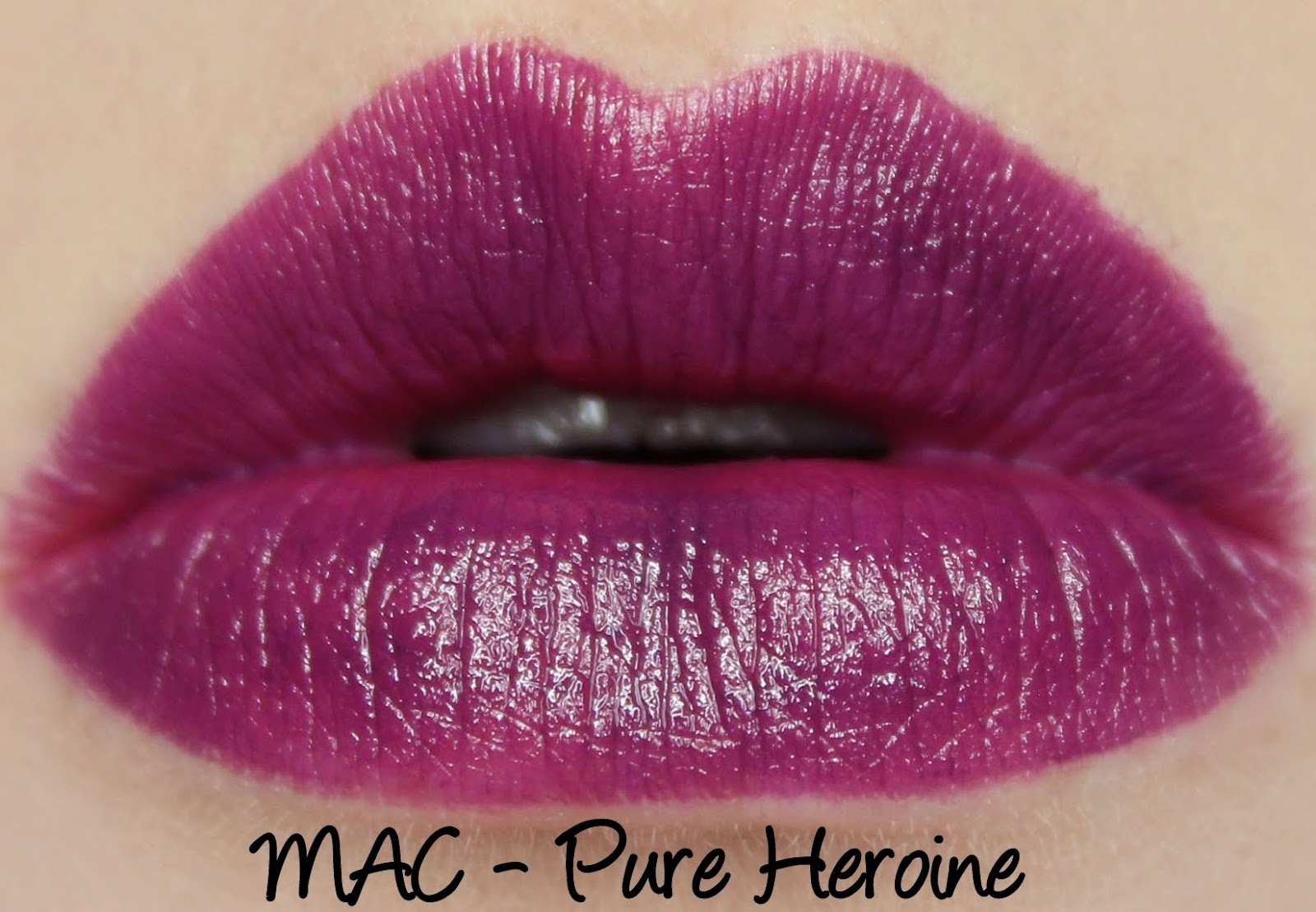 MAC Monday: MAC X Lorde - Pure Heroine Lipstick Swatches & Review