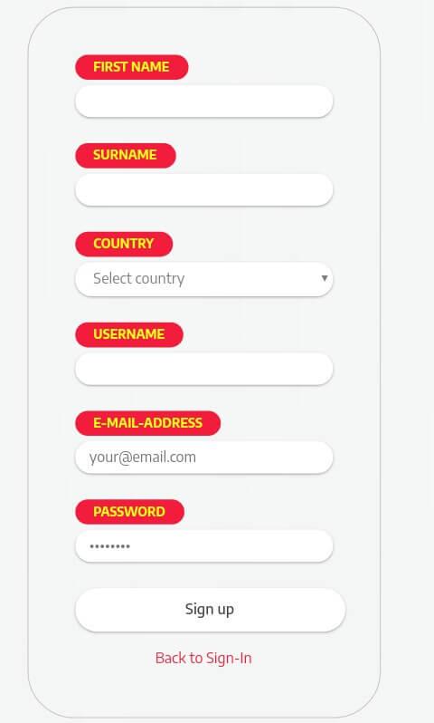 """Klik """"Sign Up"""" yang berada di pojok kanan atas dan lengkapi Formulir pendaftaran yang diminta.  Isilah Formulir tersebut dengan benar sesuai data Anda, Jika sudah pilih """"Sign Up""""."""