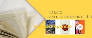 Logo Amazon Prime Day: buono da 10 euro con una selezione di libri