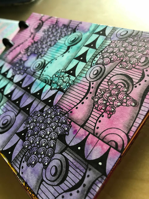 Alice Hendon, Hahnemühle Harmony hot pressed watercolor paper journal review