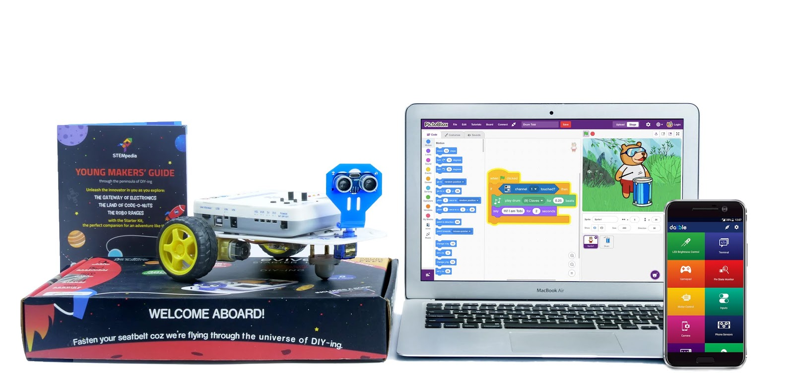 STEMpedia: One place for everything to STEMspire children. Incredible STEM supplies, course, and software for education.