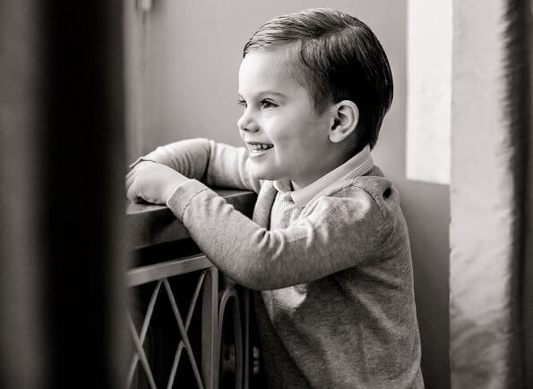 Prince Oscar is third in the line of succession to the Swedish throne, after his mother and his sister, Princess Estelle