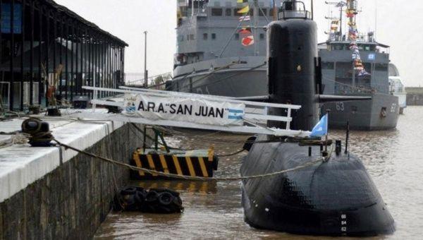 Diputada da por muertos a tripulantes de submarino ARA San Juan