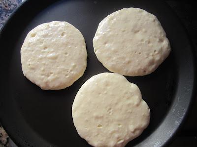 cuisson des pancakes