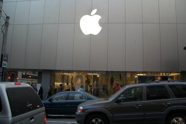 Loja da Apple na Stockton Street em San Francisco