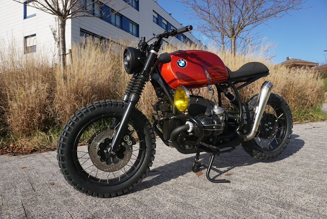 BMW R100R By Cafe Racer SSpirit Hell Kustom
