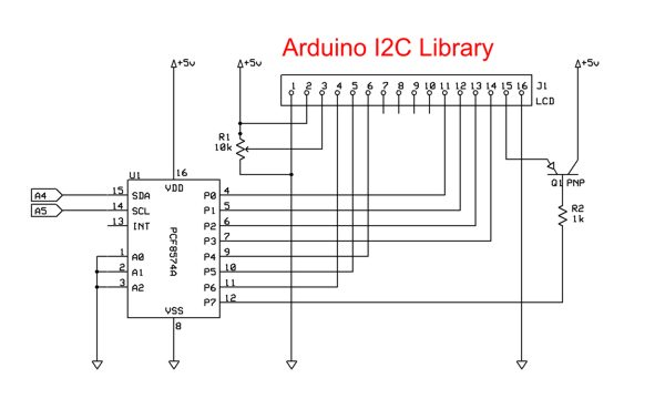 wiringpi i2c lcd library