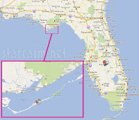 st. george island map