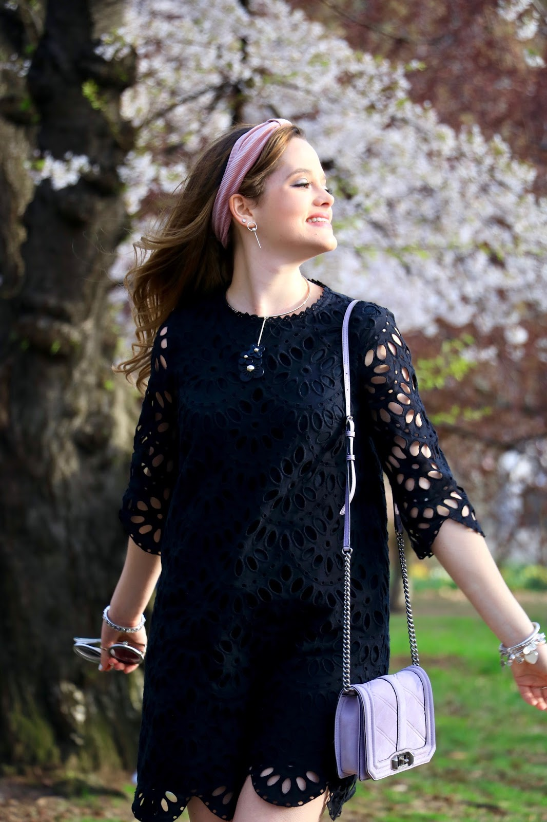 Nyc fashion blogger Kathleen Harper shows how to wear an lbd