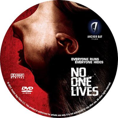 Label DVD No One Lives (Ninguém Sobrevive)
