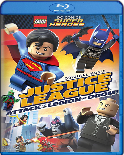 LEGO DC Super Heroes: Justice League: Attack of the Legion of Doom! [BD25] [2015] [Latino]