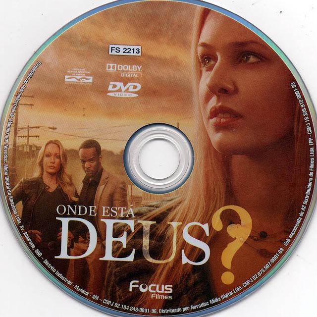 Label DVD Onde Está Deus? (Oficial)