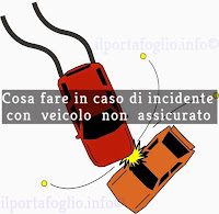 incidente con auto non assicurata