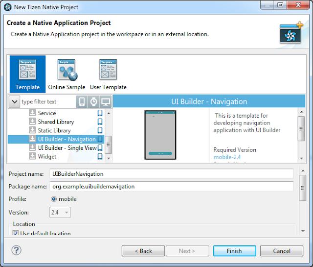 Tutoiral Lengkap Cara Mendesain Tampilan Aplikasi Tizen Lebih Mudah Menggunakan Tizen UI Builder