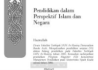 Jurnal Pendidikan dalam Perspektif Islam dan Negara Pdf Download Gratis