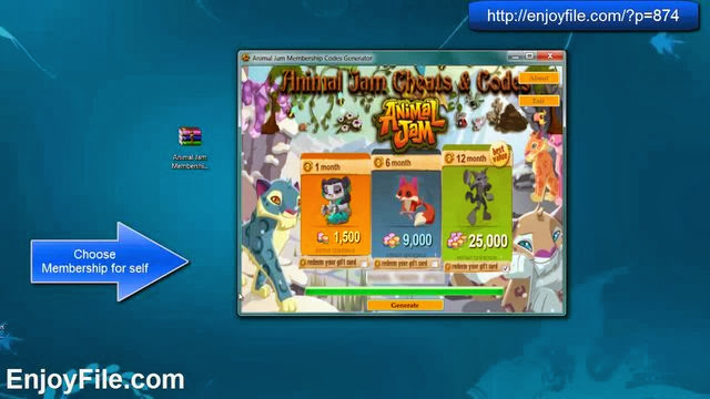 animal jam membership generator no surveys no download animal jam membership codes generator 9757