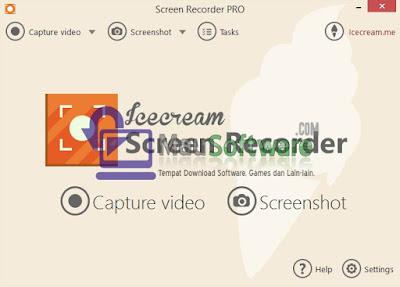 software screen recorder terbaik, program screen recorder terpopuler, cara merekam layar komputer, rekam layar komputer dengan icecream screen recorder pro
