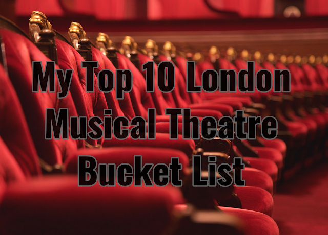 musical theatre bucket list header image
