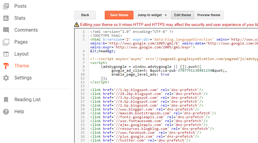 Pertama Kali Memasukan Kode Adsense Review Pada Blog Terbaru