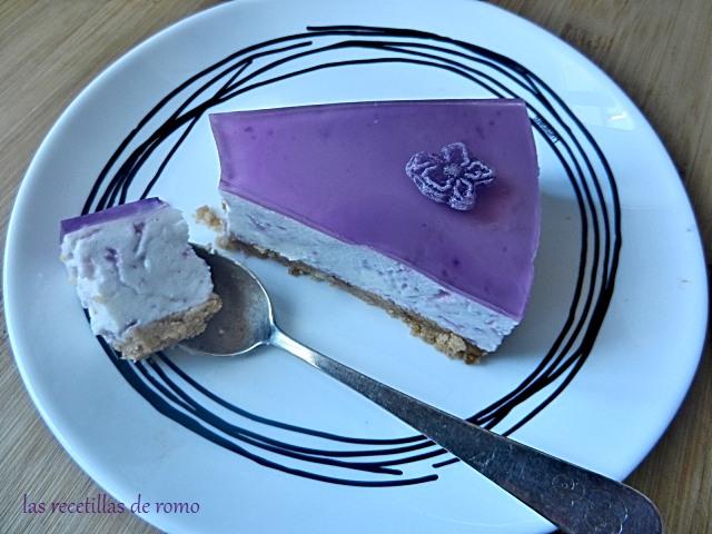 """""""Tarta de queso y violetas"""""""