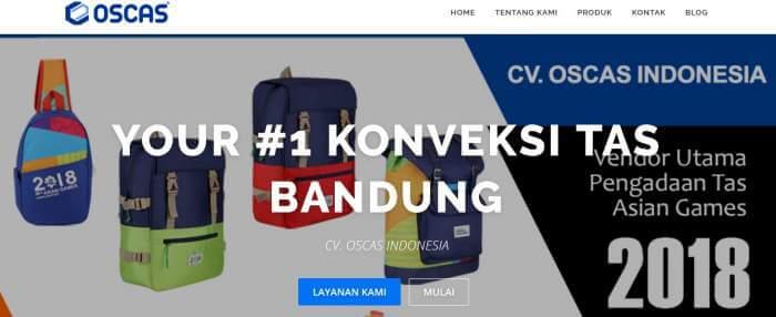 Cari Tempat Konveksi Tas di Bandung? Pilih OSCAS Saja