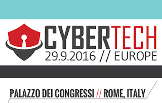 "A Roma il forum ""Cybertech Europe 2016"""