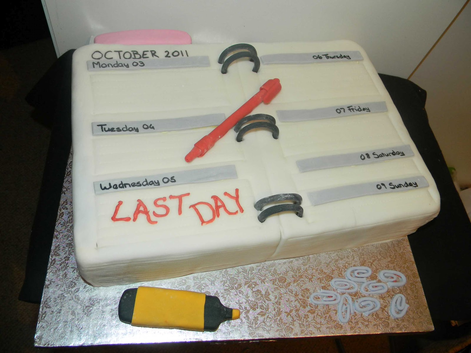 Cakes For The Young At Heart Farewell Cake