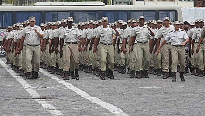 Governo da Bahia contrata organizadora do concurso para PM e Bombeiros