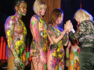 Make Easy Art And Craft Ideas Body Paint Girls