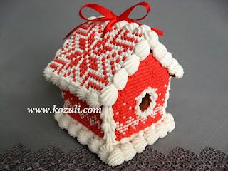 Пряничные домики и объемные пряники