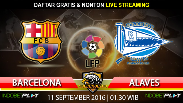 Prediksi Barcelona vs Alaves 11 September 2016 (Liga Spanyol)
