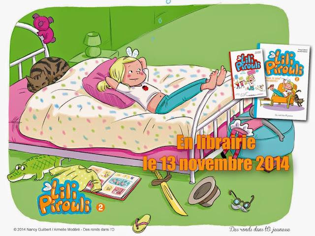 + d'infos sur Lili Pirouli T2 - Demain, je serai présidente ! de Nancy Guilbert et Armelle Modéré (Jeunesse)