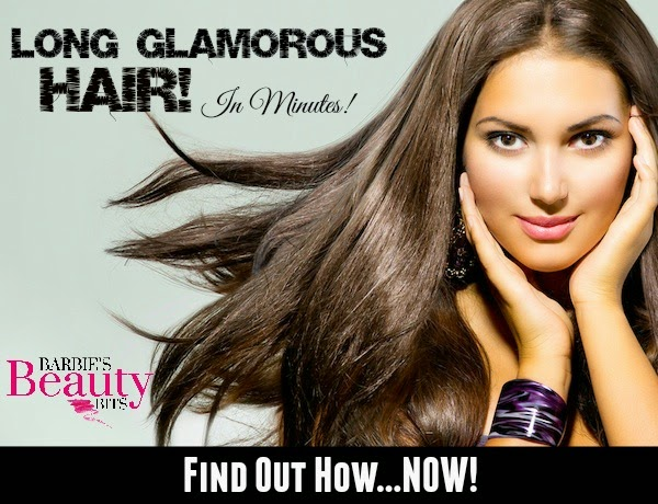 Long Glamorous Hair In Minutes, by Barbie's Beauty Bits and effortless hair extensions.