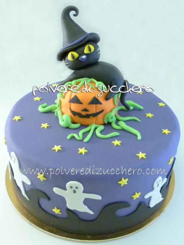 Halloween Cake E Corso Di Cake Design Un Simpatico
