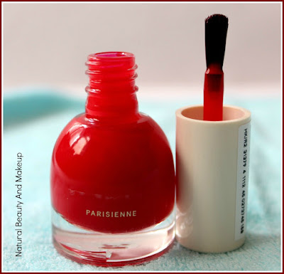 H&M Parisienne Red Nail Polish: REVIEW, NOTD & MOREon Natural Beauty And Makeup Blog