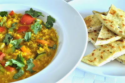 Quick and Easy Five Vegetable Dal