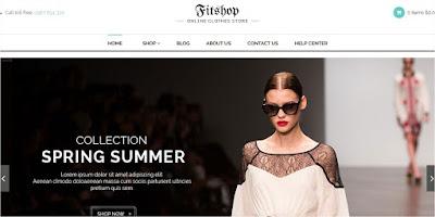 Template toko Online Baju PHP