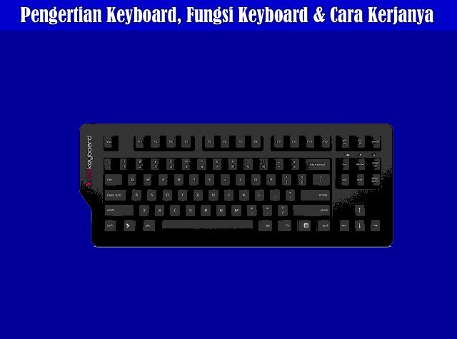 Pengertian Keyboard, Fungsi Keyboard, dan Cara Kerja Keyboard