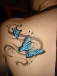butterfly tattoo beautiful