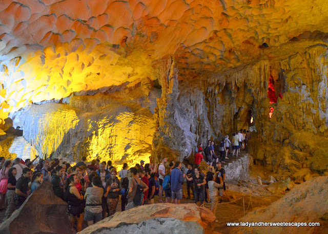 Amazing Cave in Halong Bay