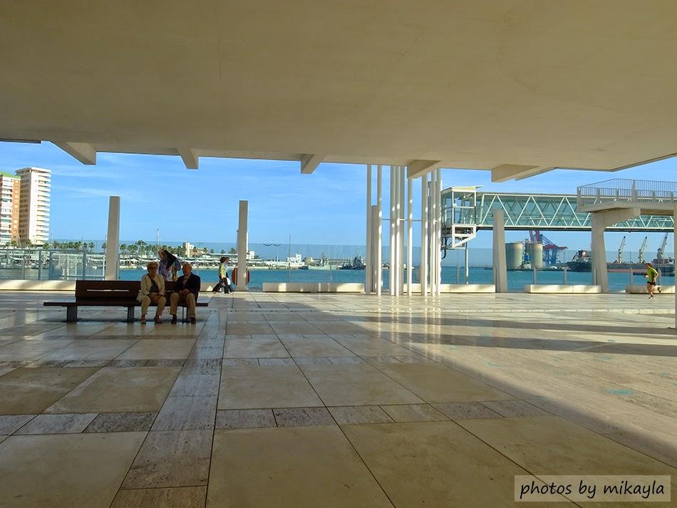 回到最美好的時光: D9-Málaga.陽光太陽海岸。馬拉加港 + 古羅馬圓型劇場 Teatro Romano