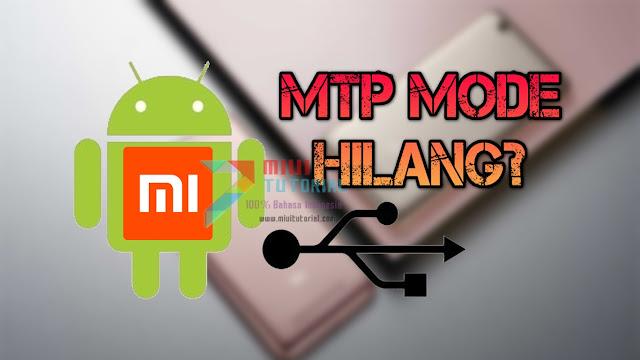 Mode USB MTP Hilang dari Smartphone Xiaomi Kamu? Jadi Cuma Bisa Charging Saja? Ini Tutorial Cara Memperbaikinya