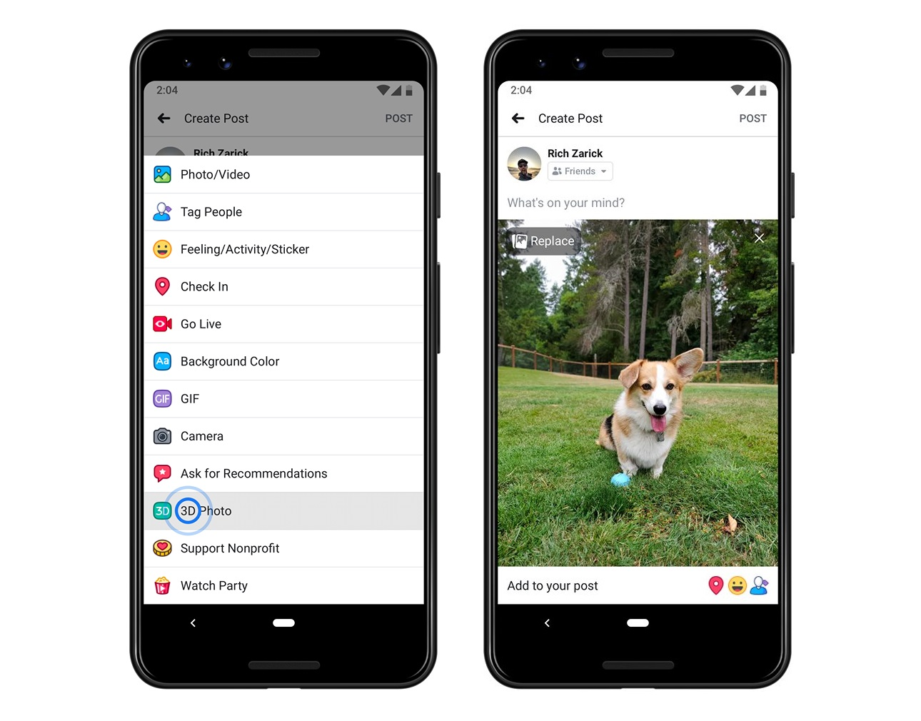 Facebook Roles Out 3D photos for Android 1