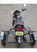 Side wheel attachment