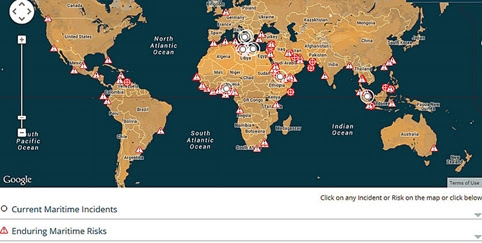 NEW INTERACTIVE MARITIME RISK MAP FOR SEAFARERS