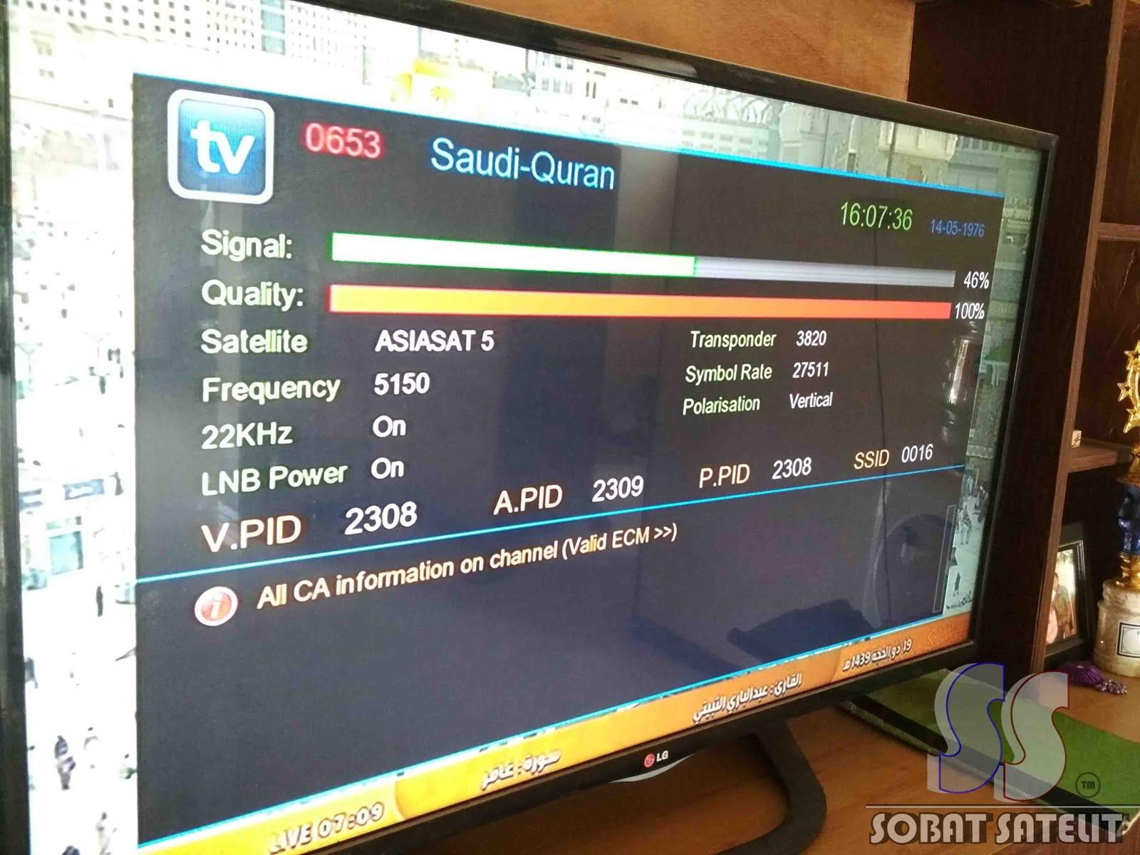 Cara Tracking Satelit Asiasat 5 C-Band - Sobat Satelit