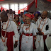 Photos: Nigeria's first female Vice Chancellor, Grace Alele-Williams, honored with a Chieftancy title by the Olu of Warri