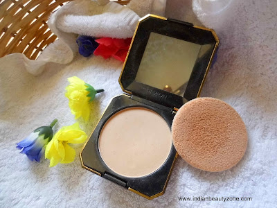 Compact powder for dry skin